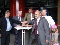 Offizielle Einweihung im ersten Bioenergiedorf Hessens