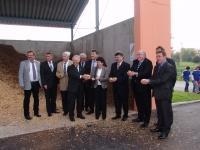 Feierliche Einweihung Biomasseheizwerk Kulmbach