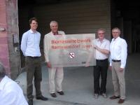 Biomasseheizwerk Rentweinsdorf eingeweiht