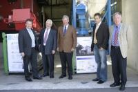 Umweltminister besucht Holzheizwerk Eslohe