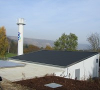 Biomass heating system Meisenheim