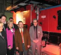 Biomasseheizwerk des Kreises Wesel geht in Betrieb