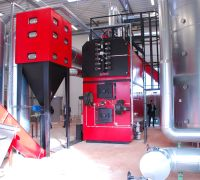 Biomass heating system Verl, Germany