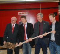 Biomasseheizwerk Verl nimmt Betrieb auf