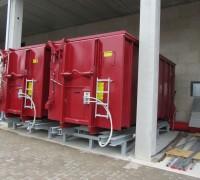 Bioflamm-Brennstoff-Wechselcontainer