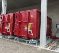 Bioflamm fuel roller container
