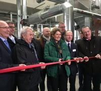 Rheinland-Pfalz Wirtschaftsministerin weiht Biomasseheizwerk ein