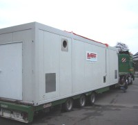 Bioflamm-Heating container