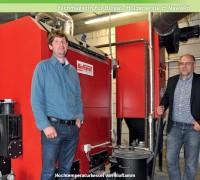 Hochtemperaturkessel von Bioflamm – Bier mit Bioenergie